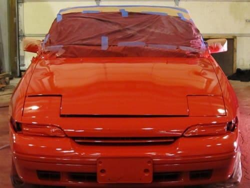 Reparação de bate chapas e pintura automóvel no Porto