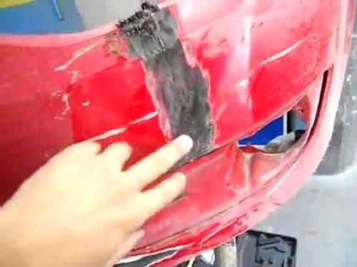 Soldadura de reparação e restauro de pára-choques no Porto