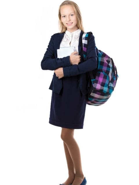 destaque Saia para uniforme escolar