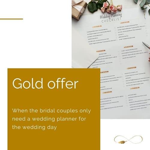 destaque WEDDING PLANNER GOLD OFFER