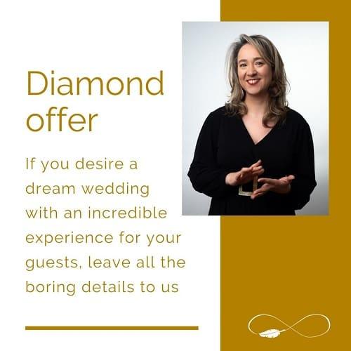 destaque WEDDING PLANNER DIAMOND OFFER