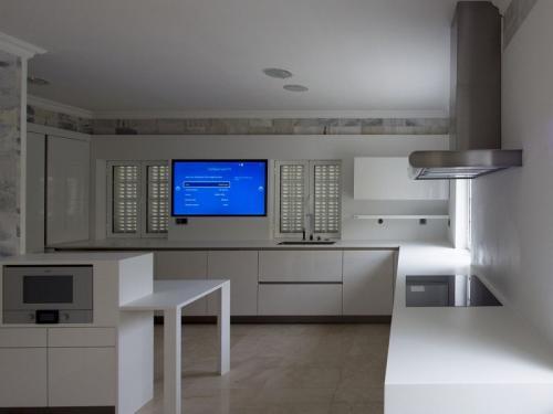 destaque Cozinha com sistema inteligente