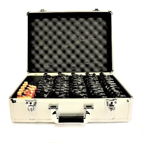 destaque Tour guide systems with 50 receivers and 5 transmitters for sale