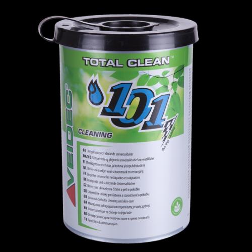 destaque TOTAL CLEAN Toalhitas de limpeza para mãos - Ideal para limpeza antes de desinfeção