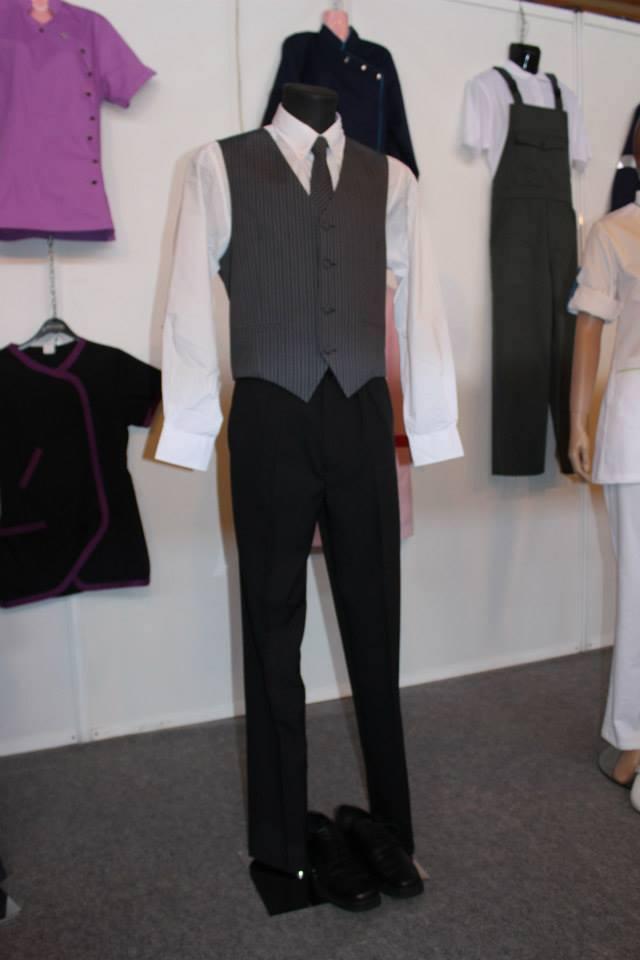 Man Waiter's Uniform