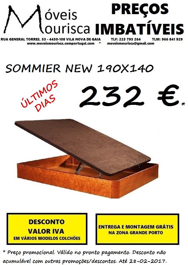 SOMMIER NEW 190X140