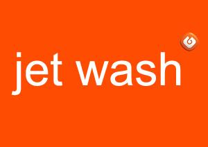 Lavagem jet wash