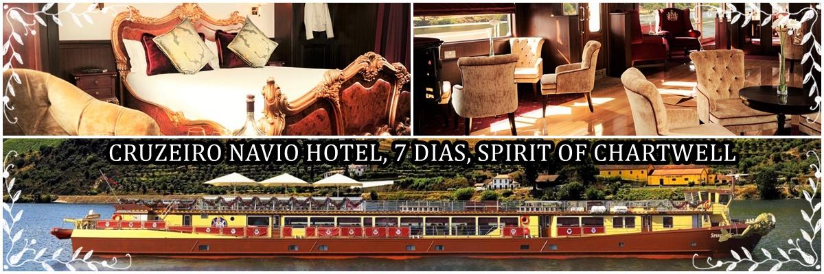Cruzeiro Navio Hotel, 7 dias, Spirit Of Chartwell